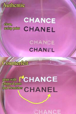 14_Recognize Fake CHANEL Chance Eau Tendre