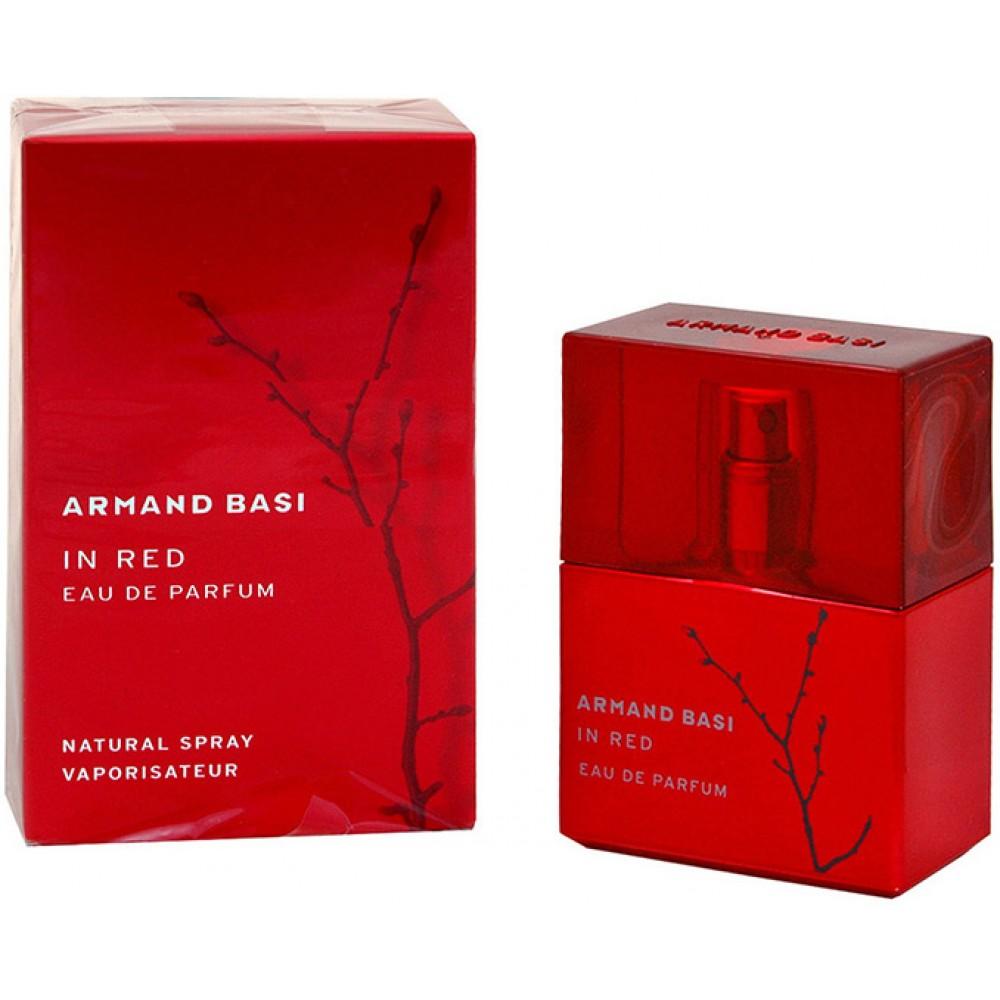 Armand Basi IN RED (Арманд Баси Ин Рэд туалетная и парфюмированная вода) для женщин - 100-ml-parfyumirovannaya-voda-tester