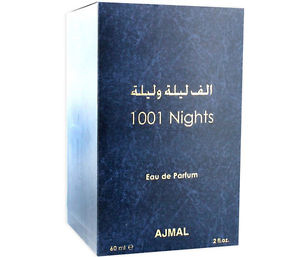 Ajmal 1001 NIGHTS 60ml edp (Ажмал 1001 Найтс 60 мл парфюмированная вода) для женщин