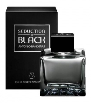 Antonio Banderas Seduction In Black 100ml men (Антонио Бандерас Седакшн Ин Блэк 100 мл туалетная вода) для мужчин