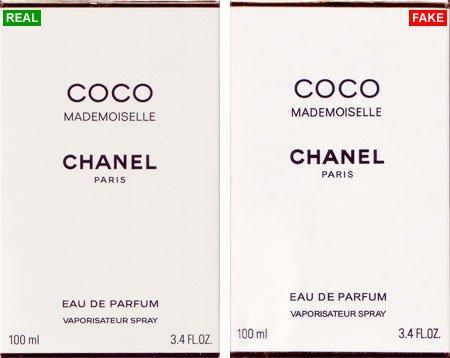 Chanel Coco Mademoiselle как отличить от подделки